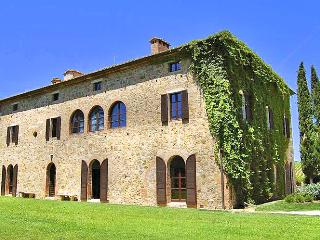 Lovely 12 bedroom Val d'Orcia House with DVD Player - Val d'Orcia vacation rentals