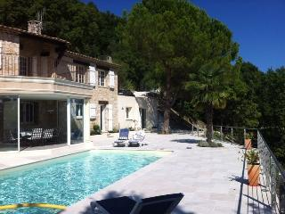 Beautiful villa with pool and fantastic view - Grasse vacation rentals