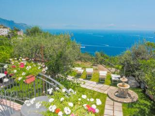 Villa Eufemia Amalfi stunning view - Vettica di Amalfi vacation rentals
