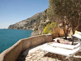 Romantic villa on the sea, into a natural cliff - Fiordo di Furore vacation rentals