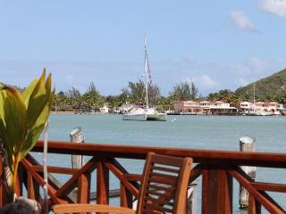 234D, Antigua luxury waterfront south finger villa - Jolly Harbour vacation rentals