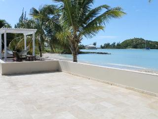 Luxurious Beachfront villa with 6 bedrooms & private pool - Jolly Harbour vacation rentals