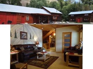 Salmon River Cabin Rental Sleeps 8 - NEW RENTAL - North Fork vacation rentals