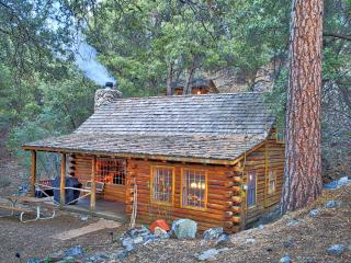 Romantic Rustic Log Cabin with Porch Swing & WiFi! - Pine Mountain Club vacation rentals