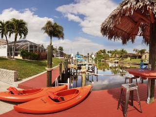 Villa Savona, pool, and sail boat access to Gulf - Cape Coral vacation rentals