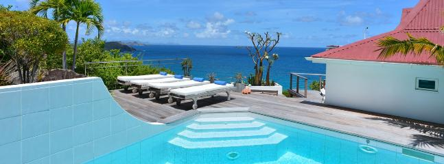 Villa Aventura SPECIAL OFFER: St. Barths Villa 200 One Of The Most Attractive Villa Rentals Situated In The Private Estate Of Roc Flamands. - Flamands vacation rentals