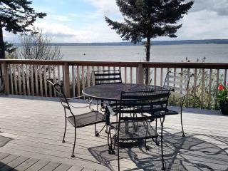 WARM BEACH WATERFRONT on PUGET SOUND - Puget Sound vacation rentals