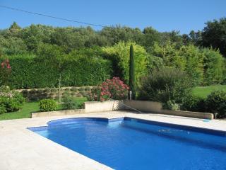 Spacious villa in superb gardens - Lourmarin vacation rentals