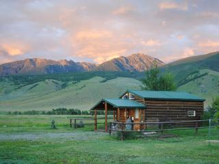 Elegant rustic cabin w/loft bdrm near Chico Hot Springs, Yellowstone Pk, fishing - Pray vacation rentals