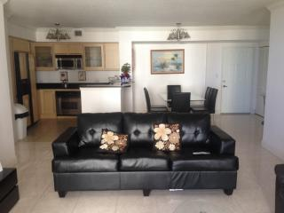 2 bedroom Apartment with Internet Access in Hallandale - Hallandale vacation rentals