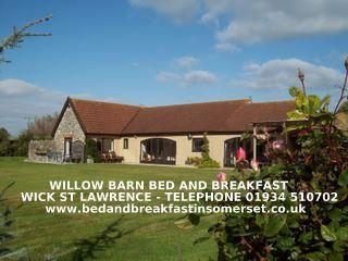 WILLOW BARN   superior Bed and Breakfast - Wick Saint Lawrence vacation rentals