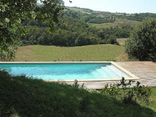 Just minutes from Todi, this modern, 3 bedroom villa offers breathtaking views over the rolling hills of Umbria HII BEA - Umbria vacation rentals