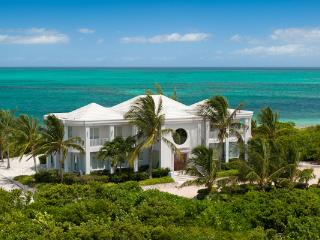 Beachfront villa with magnificent views, especially from the dining area. TNC OCE - Leeward vacation rentals