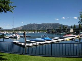 171A-Tahoe Keys beach right out the front door! Unit has boat slip, great mountain views - South Lake Tahoe vacation rentals