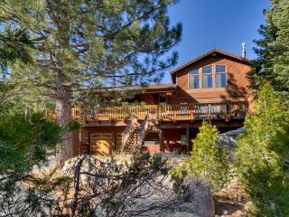 Big Mountain Style home with fantastic views, five bedrooms with a pool table - Kyburz vacation rentals