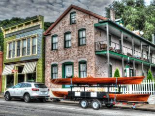 BLUE DOOR INN 1857 Apartment; Mississippi River - Alma vacation rentals