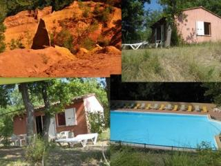 Luberon GITE des OCRES  piscine Wifi animal OK - Villars en Luberon vacation rentals