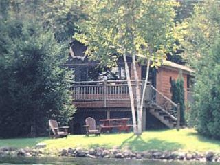 Charming Waterfront Adirondack Cabins - Moose - Saranac Lake vacation rentals