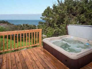Relax at the beach from the oceanview hot tub - Lincoln City vacation rentals