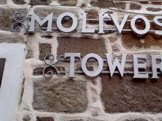 MOLIVOS TOWER - traditional stonehouse villa 1750' - Molyvos vacation rentals