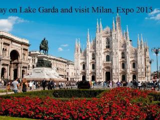 Visit Milan, stay on lake Garda  2/7 pax +dog - Moniga del Garda vacation rentals