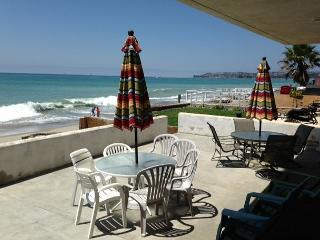 Beach Condo Right on the Sand- MONTHLY $6500 to $9,000 - Capistrano Beach vacation rentals