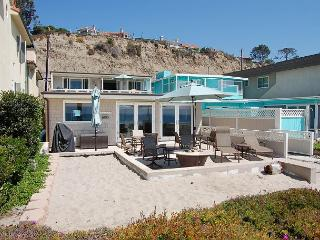 Beach House with GREAT Patio Right on the Sand! Sleeps 9 - Dana Point vacation rentals