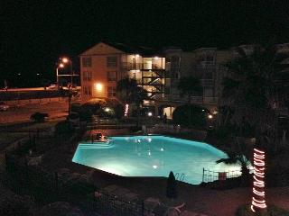 BC's Beach Condo has the perfect views of the gulf and Waterfall Lagoon pool! - Galveston vacation rentals