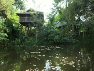 Baan Sammi Nature Resort — Khilek Pavilion: Wooden Lakeside Stilt-House - Doi Saket vacation rentals