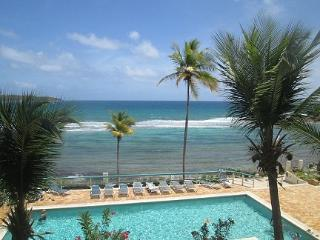 Tropical 2 bdrm condo on the water at Bolongo Bay - Saint Thomas vacation rentals