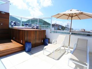Ipanema One Bedroom Penthouse With Panoramic Views - #599 - Rio de Janeiro vacation rentals