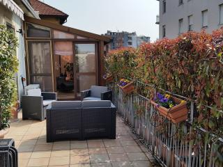 Nice Penthouse with Deck and Internet Access - Milan vacation rentals