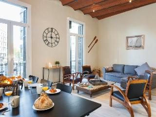 Plaza Catalunya 4BR/2.5BA in the Eixample for 10 - Barcelona vacation rentals