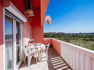 Spacious apartment for 2-6 people with sea view - Vrsi vacation rentals