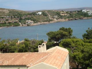 House with fantastac view overlooking the aegean - Sounio vacation rentals