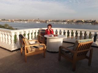 Direct Nile view with sunny terrace - Luxor vacation rentals