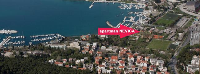 Fantastic apartment NEVICA in green oassis - Image 1 - Split - rentals