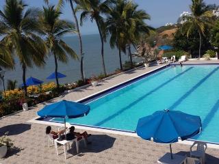 Nice Condo with Tennis Court and Mountain Views - Santa Marta vacation rentals