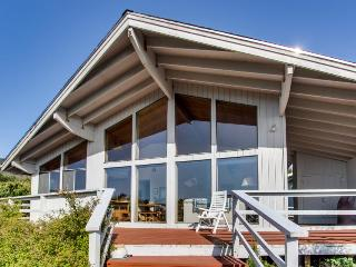 Pet-friendly with ocean views and a private hot tub! - Oceanside vacation rentals