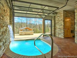 Romantic Modern Cabin with Indoor Pool Spa and Amazing Mountain Views - Tennessee vacation rentals