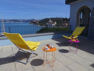 1 bedroom Penthouse with Internet Access in Le Grazie - Le Grazie vacation rentals