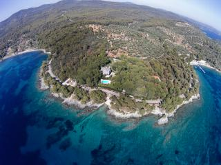 Exclusive Seaside Villa Alkyona with Private Beach - Neos Marmaras vacation rentals