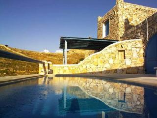 Stone built villa with pool & stunning Aegean view - Mykonos Town vacation rentals