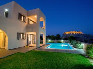 Modern Villa with private pool and sea view - Haraki vacation rentals