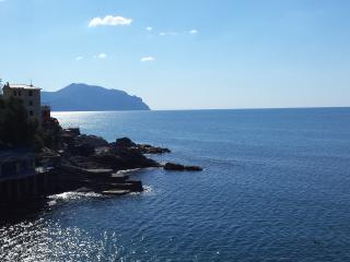 Villa Regina - Pieve Ligure straight on the rocks - Camogli vacation rentals