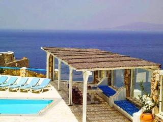 Fantastic sea view privileged position villa - Mykonos Town vacation rentals