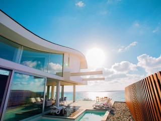 Ultra modern  beach front villa, amazing sunsets - Nea Dimmata vacation rentals