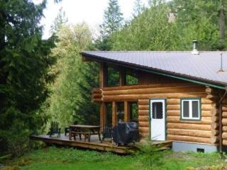CR103sMapleFalls  - Pet Friendly Log Cabin #97 at the Lake! - Deming vacation rentals