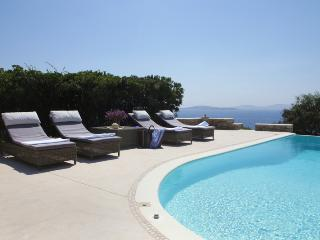Villa with magnificent sunset views & private pool - Mykonos vacation rentals