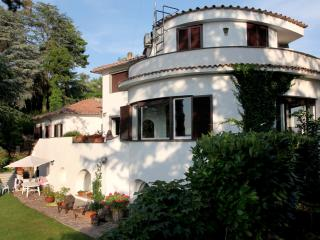 Panoramic penthouse in villa with pool north Rome - Formello vacation rentals
